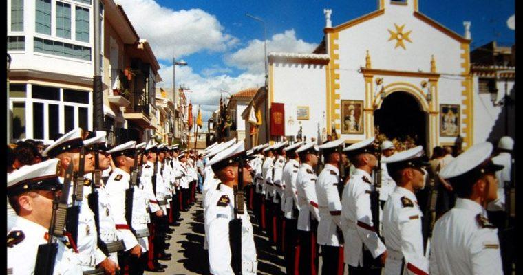 La Infantería de Marina recibe la Mención de Honor en el día del Villazgo de Huércal-Overa