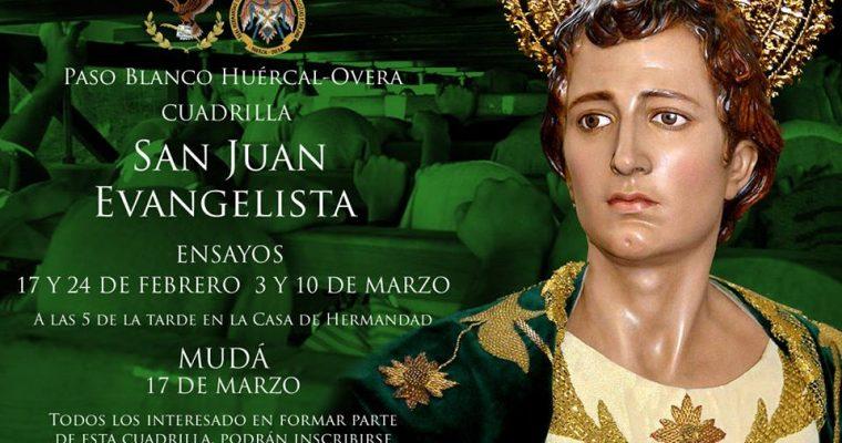 Igualá y calendario de ensayos de San Juan Evangelista