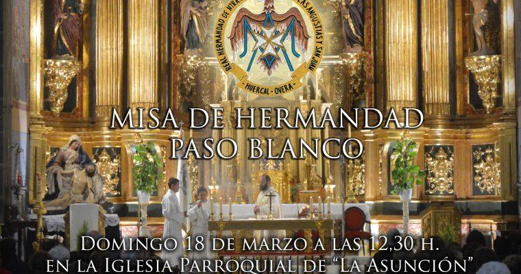 MISA DE HERMANDAD DEL PASO BLANCO