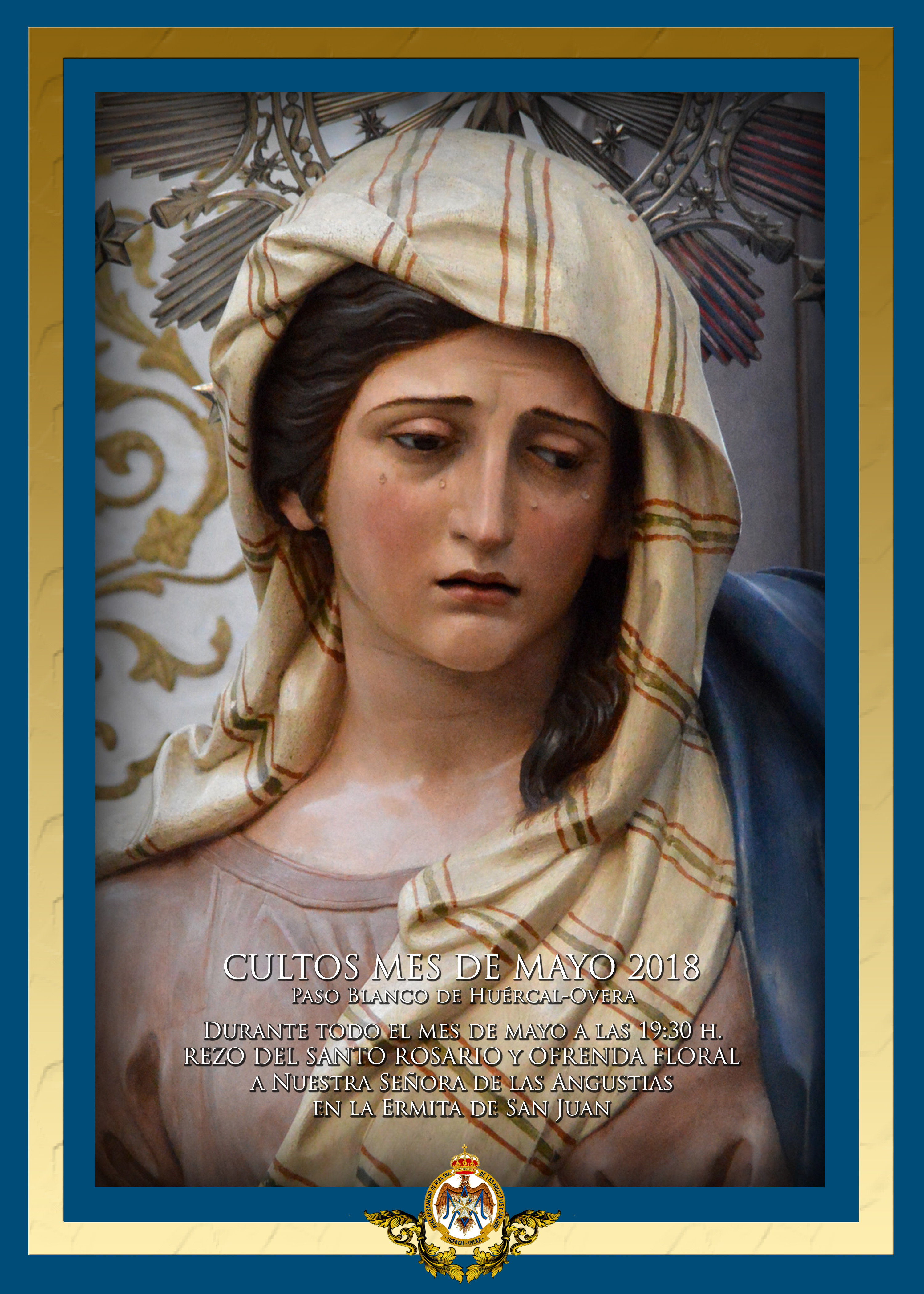Cultos mes de mayo en honor a Nuestra Señora de las Angustias