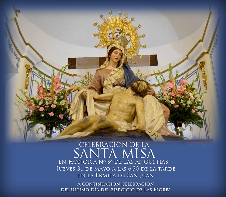 Misa del mes de mayo en honor a Nuestra Señora de las Angustias