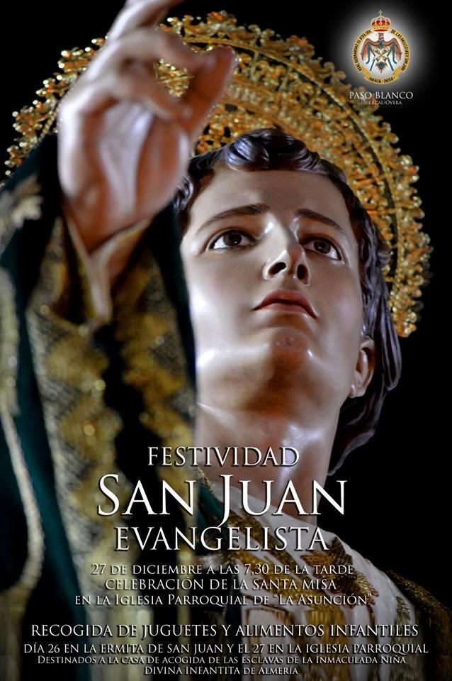 FESTIVIDAD DE SAN JUAN EVANGELISTA – 27 de diciembre de 2018