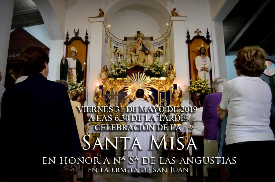 Misa en honor a Nuestra Señora de las Angustias. Mayo 2019